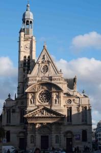 The Church of St. Etienne du Mont